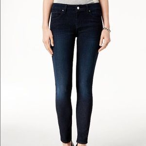 Guess Jeans Power Skinny Low Dark Wash Size 25